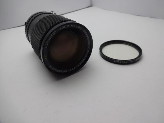 Lente Soligor 28-80mm F3.5-4.5 Foco Manual