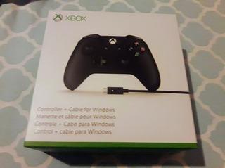 Joystick Xbox One S Microsoft Mando Negro Oferta Original Pc