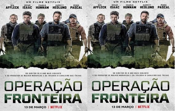 Dvd Filme Operação Fronteira