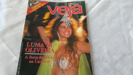 Revista Veja Nº 7 Ano 20 Luma De Oliveira Petrópolis Etc