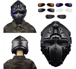 Casco Para Gotcha (paintball)/ Airsoft Obsidian