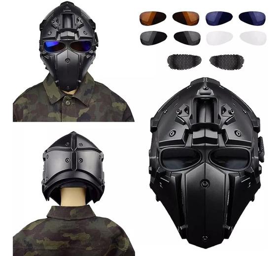 Casco Para Gotcha (paintball)/ Airsoft Obsidian