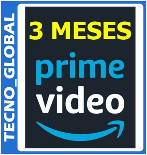 Amazon Prime Video 3 Meses Calidad Hd ( Películas Y Series )