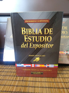 Biblia De Estudio Del Expositor Jimmy Swaggart