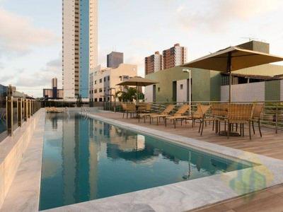 Apartamento Com 3 Dormitórios Para Alugar, 73 M² Por R$ 1.900/mês - Manaíra - João Pessoa/pb - Cod Ap0669 - Ap0669