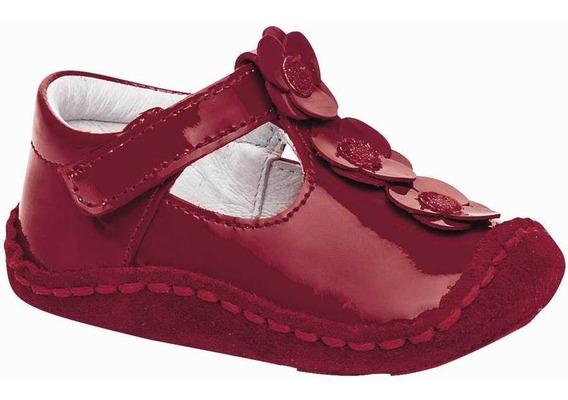 Zapato Ensueño 3287-71 Niña Bebe Talla 10-13 Color Rojo Pk-