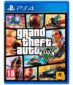 Grand Theft Auto V Ps4 - Juego Fisico - Prophone