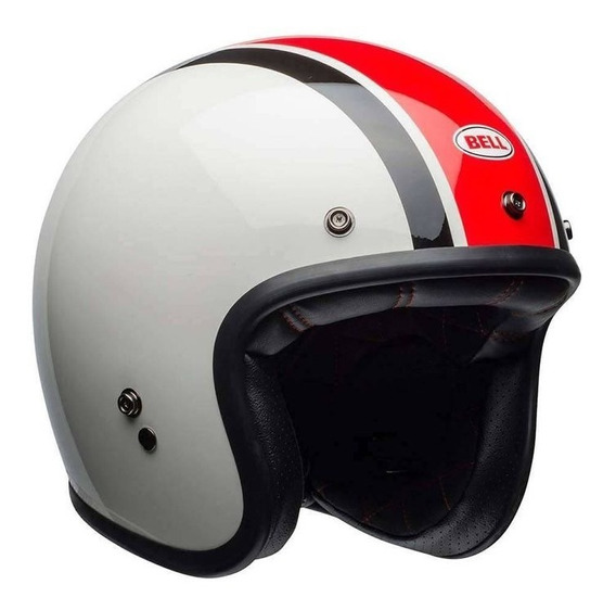 Capacete Bell Custom 500 Ace Cafe Stadium Bco/pto/ver Rs1
