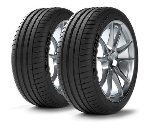 Imagen 1 de 12 de Kit X2 Neumáticos 245/45/18 Michelin Pilot Sport 4 - Cuotas