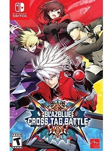 Blazblue Cross Tag Battle - Switch Mídia Física