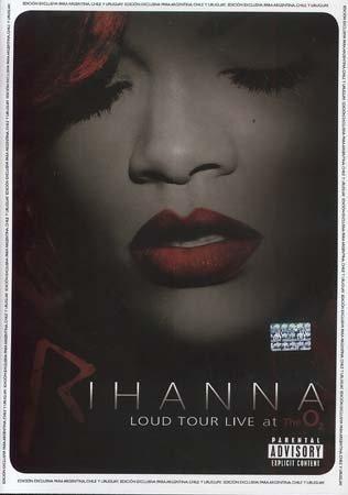 Dvd Rihanna -loud Tour Live At The O2 -