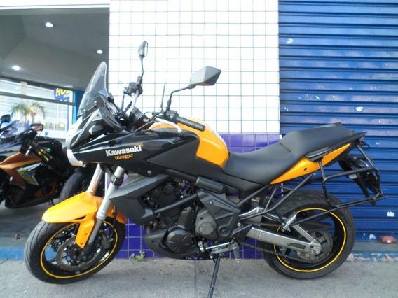 Versys 650 Laranja 2012 Impecavel!!! Confira!!