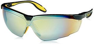 Gafas De Protección Uvex S3523 Genesis X2, Montura Negra Y A