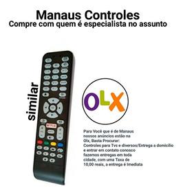 Controle Remoto Smart Tv Aoc Com Netflix Paralelo