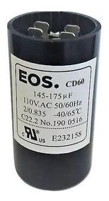 Capacitor Eletrolítico De Partida 145/175 Mfd 1/5 110v D1987