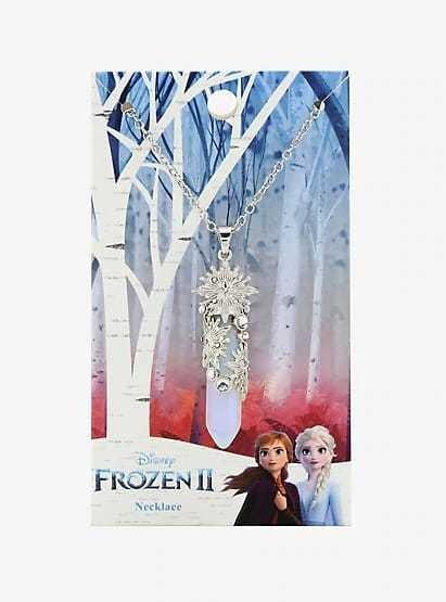 Collar Original De Disney Frozen 2 Con El Copo De Nieve