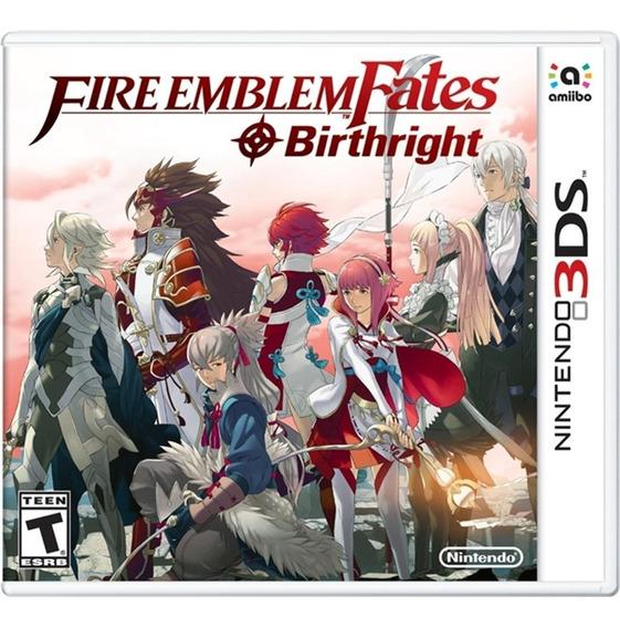 Fire Emblem Fates: Birthright - 3ds Midia Fisica Novo
