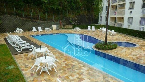 Apartamento Com 2 Dormitórios À Venda, 55 M² Por R$ 275.000 - Pendotiba - Niterói/rj - Ap2415