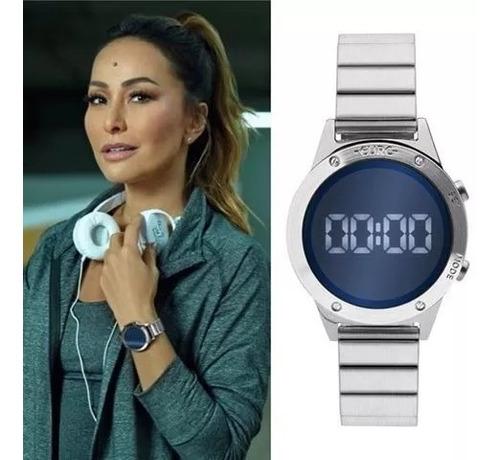 Relógio Euro Prata Espelhado Eujhs31baa/3a Sabrina Sato