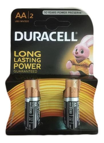 Pila / Batería Duracell  Aa Blister / 2 Und  1,5v