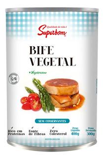 Bife Vegetal 400g - Super Bom