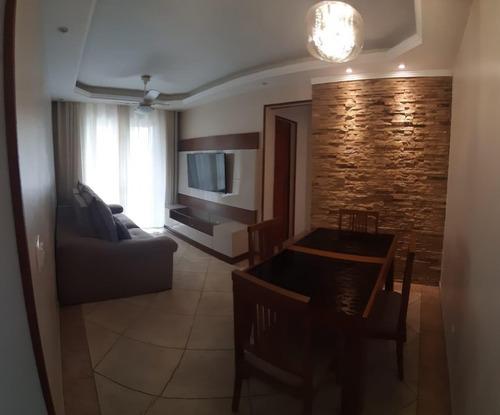 Imagem 1 de 7 de Apartamento Para Venda - Jardim Sulacap, Rio De Janeiro - 75m², 1 Vaga - 822