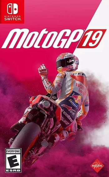 Jogo Motogp 19 Nintendo Switch Midia Fisica Moto Gp 2019