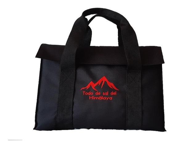 Funda Maletín Portafolio Para Tabla De Sal Del Himalaya