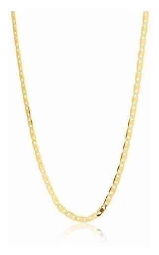 Cordão Piastrine 70cm Em Ouro 18k-750