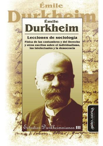 Combo De Tres Libros De Emile Durkheim:  Sociología Y Filoso