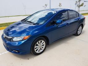 Honda Civic Ex Automático Equipado Factura De Agencia 2012