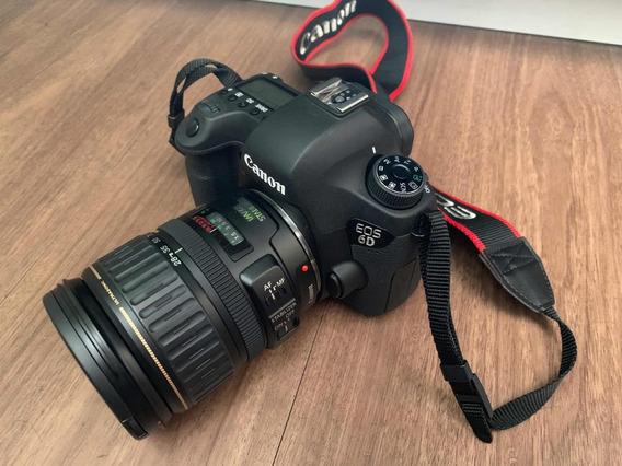 Câmara Canon Eos D6 + Lente Canon Ef 28-135mm F:3.5-5