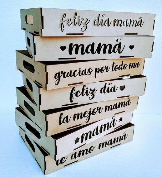 Bandejas Desayuno Fibrofácil Día De La Madre 30x40cm X 15 Un