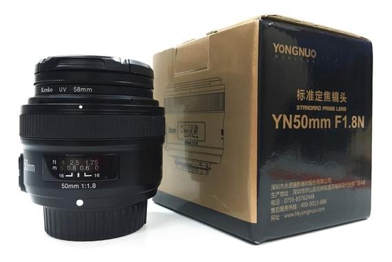 Yongnuo Yn50mm F1.8n Nikon + Protetor E Filtro