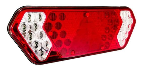 Lanterna Traseira Caminhão Carreta Guerra Led Bivolt Ld Le