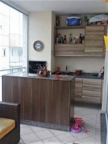 Imagem 1 de 15 de Cobertura Com 3 Dormitórios À Venda, 156 M² Por R$ 1.050.000,00 - Jardim Anália Franco - São Paulo/sp - Co0102
