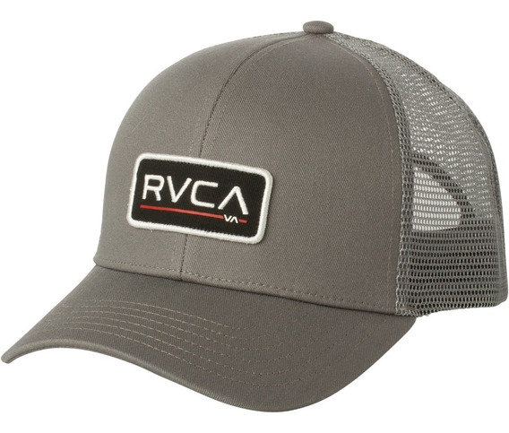 Gorra Rvca Ticket Trucker Ii Grey