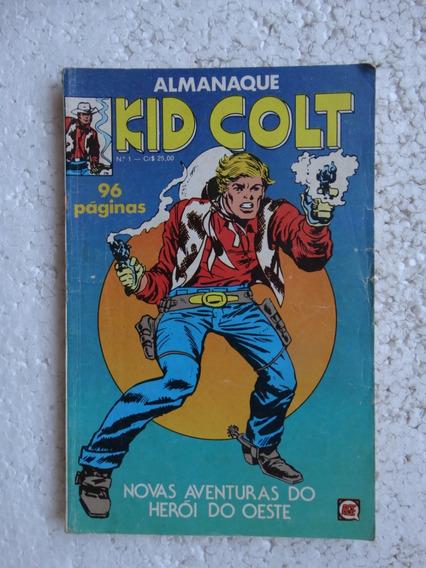 Almanaque Kid Colt Nº 1! Rge Out 1979