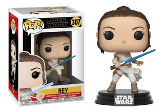 Funko Pop Rey #307 Star Wars Jugueterialeon