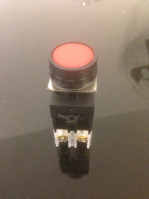 Botão De Comando Vermelho C/ Trava Kpr11 Kacon