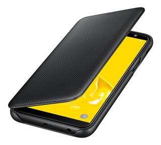 Funda J6 2018 Original Samsung Galaxy Wallet Flip Cover