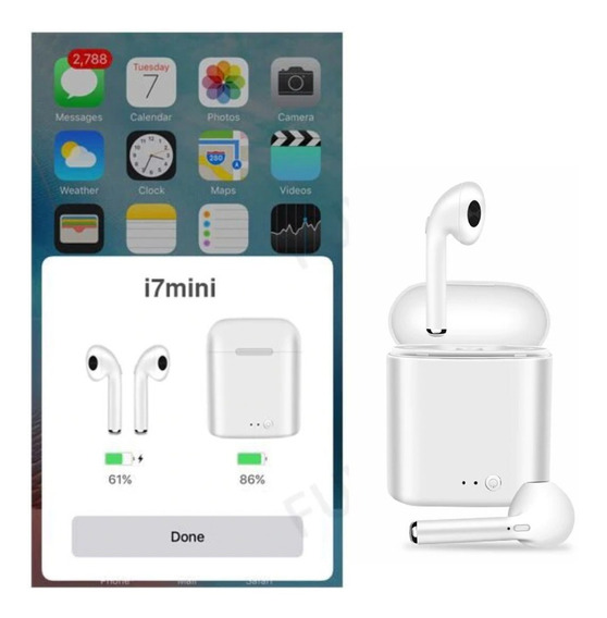 Audifonos Bluetooth 5.0 I7s Mini/i999-sd Tws Tipo AirPods