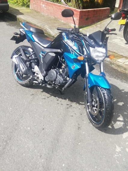 Yamaha Fz 2.0 Inyeccion, Negro Azul