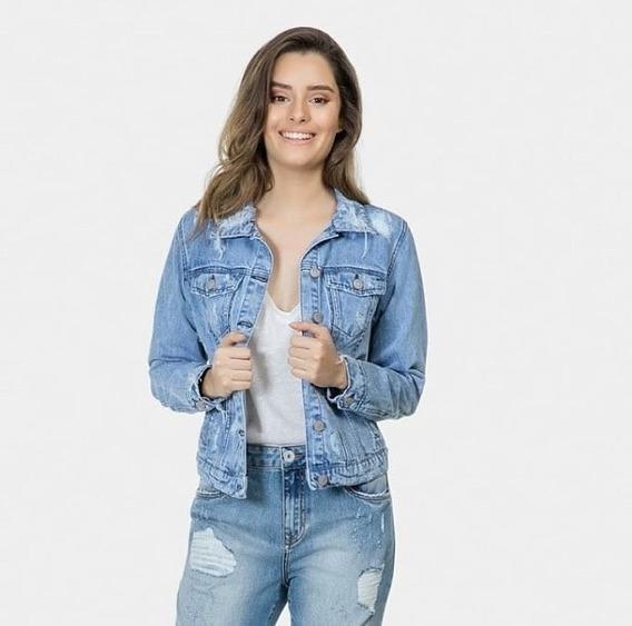 Jaqueta Jeans Lez A Lez 0056l