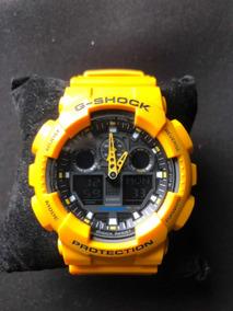 Relógio Casio G Shock Amarelo Original