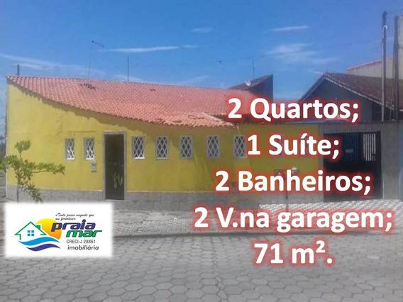 Casa 2 Quartos,1 Suíte,2 Vaga Na Garagem,2 Banheiros