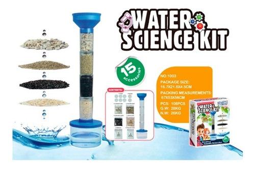 Kit De Ciencia Filtrado De Agua 1716394 E.normal