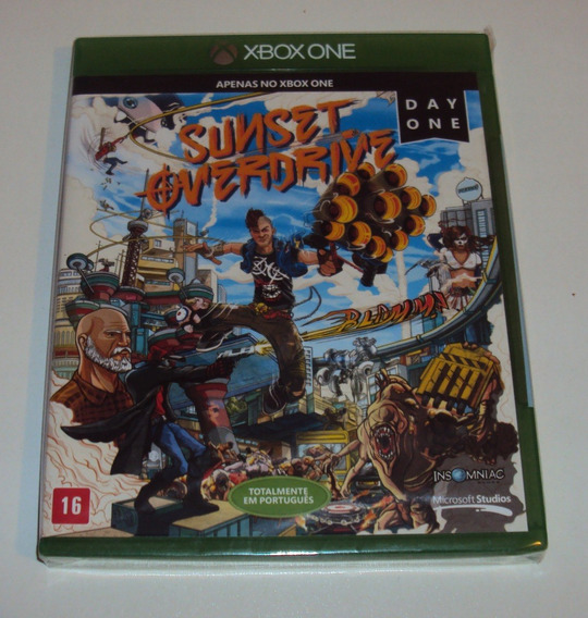 Sunset Overdrive Original Lacrado Para Xbox One
