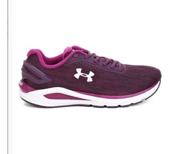 Tênis Under Armour Charged Carbon 3023418 Roxo Feminino