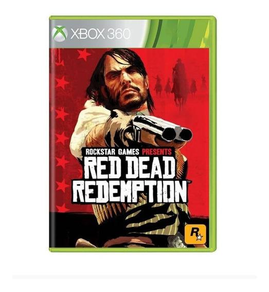 Red Dead Redemption - Xbox 360 / One - Original - Usado